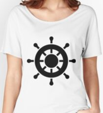 Ship Wheel Women's Relaxed Fit T-Shirt