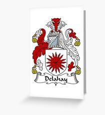 Delahay Greeting Card
