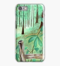 Walk With Me iPhone Case/Skin