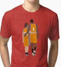 Steve Nash And Amar'e Stoudemire  Tri-blend T-Shirt