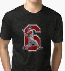 6 - Stan the Man (vintage) Tri-blend T-Shirt