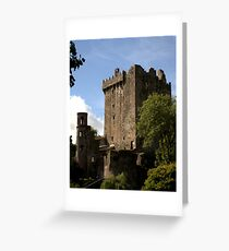 Blarney Castle keep - Ireland Greeting Card