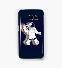 Ghetto blaster moonwalker space astronaut  Samsung Galaxy Case/Skin