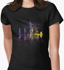UpsideDown On The Garden - v1 Womens Fitted T-Shirt