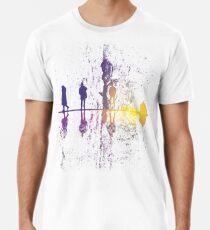 UpsideDown auf dem Garten - v1 Premium T-Shirt