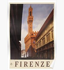 Palazzo Vecchio, Firenze / Florence Poster