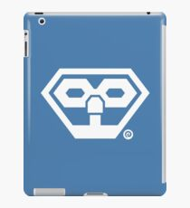 Byte & Barq Logo - White iPad Case/Skin