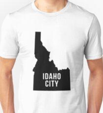 Idaho City, Idaho Silhouette Unisex T-Shirt