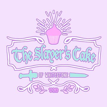The Slayer's Cake by baselinegraphix
