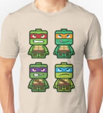 Chibi Ninja Turtles Unisex T-Shirt