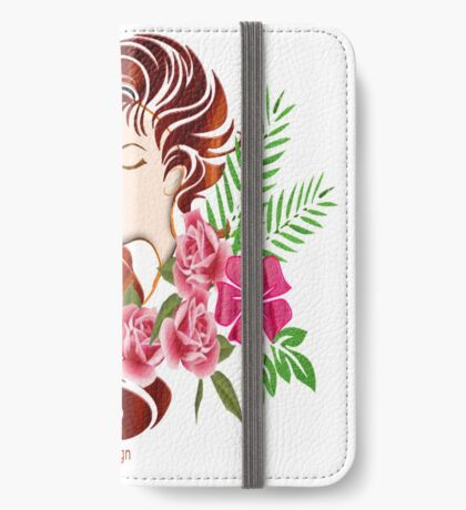 Floral Wishes (960 views) iPhone Wallet