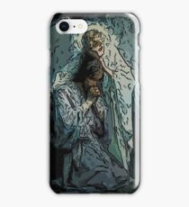 Absstract Agony In The Garden by Frans Schwartz, 1898 3 iPhone Case/Skin