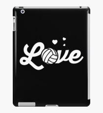 Love Volleyball Sports Women Players iPad Case/Skin