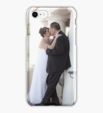 Wedding Kiss from childhood sweethearts iPhone Case/Skin