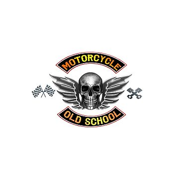 Motorcycle Old School by Dagostino