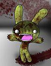 Tombie the Zombie Bunny by DarthSpanky