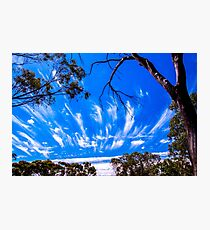 Cloud formation 2 Photographic Print