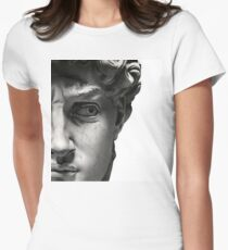 Souvenir from Florence - David Womens Fitted T-Shirt