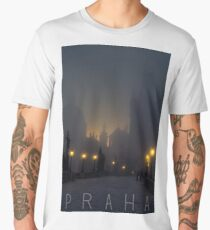 Prague, Czech Republic, Charles Bridge Men's Premium T-Shirt