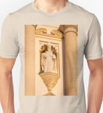 Architectural detail at Saint James Cathedral Unisex T-Shirt