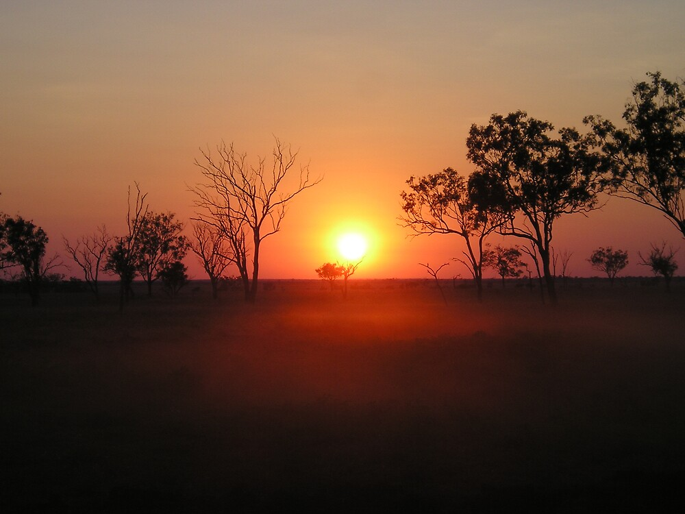 Dusty Sunrise by JudyMac