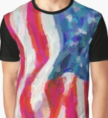abstract contemporary colors No 4 Graphic T-Shirt
