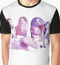 Purple Watercolour Little Mix Graphic T-Shirt