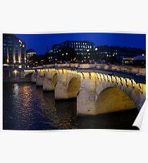 Pont Neuf Bridge - Paris, France Poster
