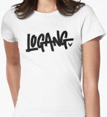 maverick logang Womens Fitted T-Shirt