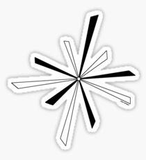 Seko designs 7 Back In Black Sticker