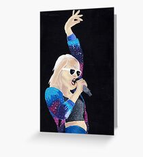 Acrylic Painting Taylor Swift Greeting Card