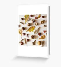 Autumn riches Greeting Card