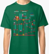 Donkey Kong Elevator Stage Classic T-Shirt