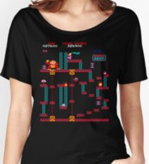 Donkey Kong Elevator Stage Women's Relaxed Fit T-Shirt