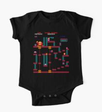 Donkey Kong Elevator Stage One Piece - Short Sleeve