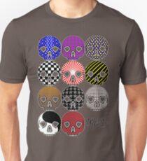 Skullpatternschytsofrenzy Unisex T-Shirt