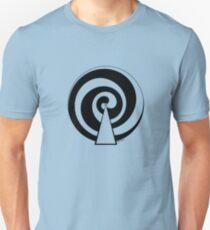 Mandala 9 Back In Black Unisex T-Shirt