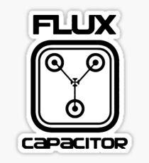 Flux Capacitor - T-shirt Sticker