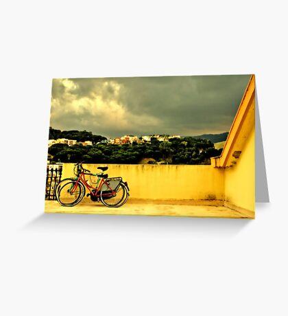 Bicycles n.1 Greeting Card
