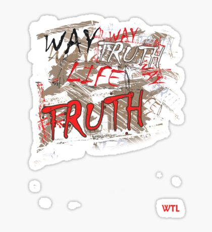 WTL mid Sticker