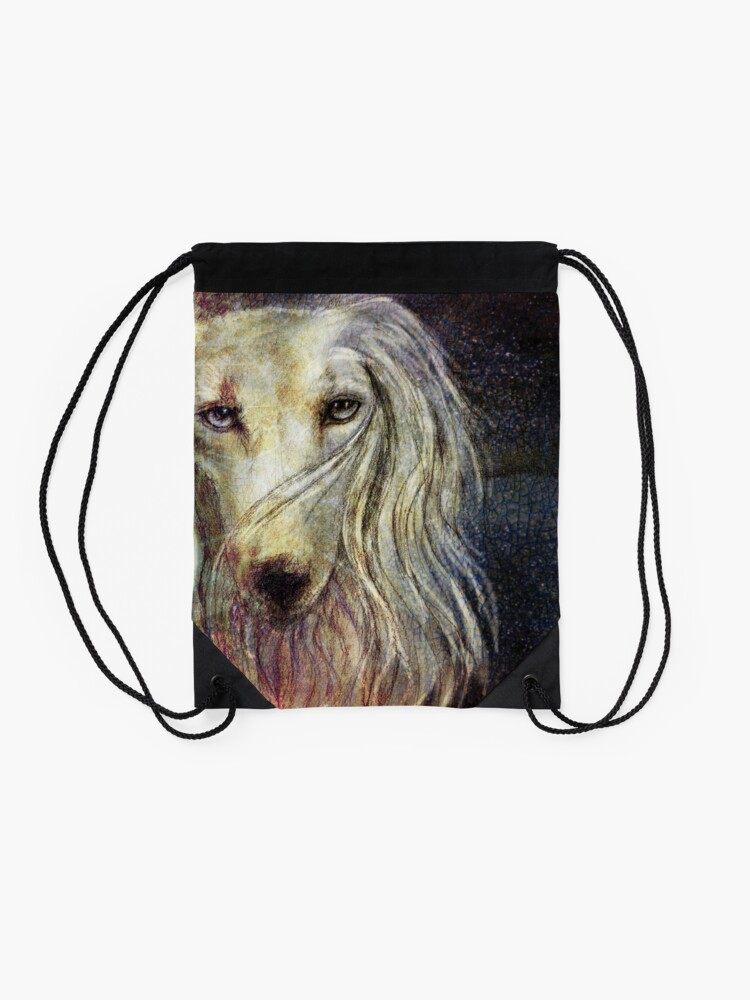 Alternate view of The Look Drawstring Bag