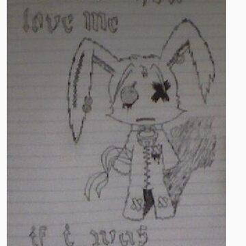 Emo Bunny Jr by JoryV