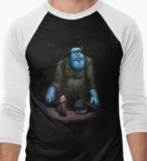 monster inc Men's Baseball ¾ T-Shirt