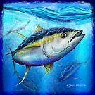 Yellowfin Tuna - Out of the Blue by David Pearce