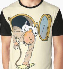 tintin searching Graphic T-Shirt