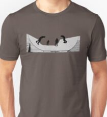 Halfpipe Skaters By BoardZombies Unisex T-Shirt