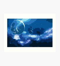 Stellaris - A view on the Universe Art Print