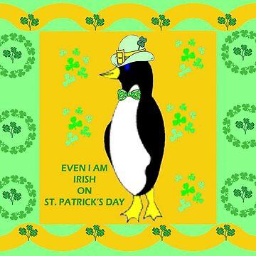 Irish Penguin by kabsannie