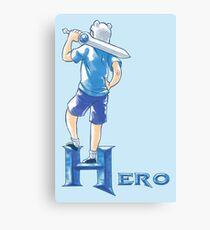 Hero Canvas Print