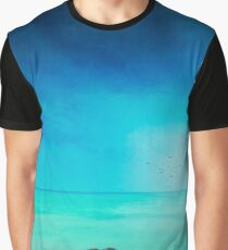 Silent Mediterranean Sea Graphic T-Shirt